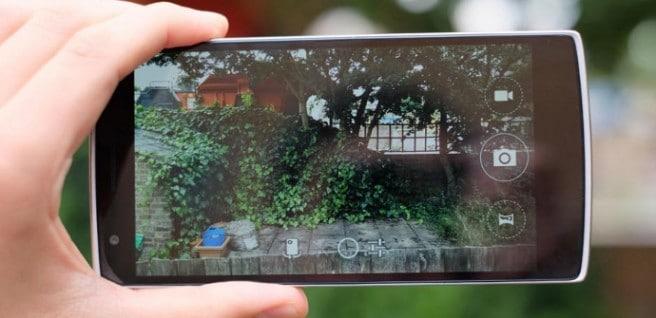 OnePlus One prueba de camara