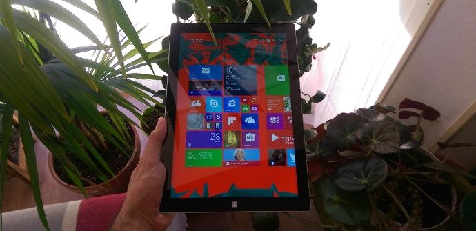 Surface Pro 3 Prueba tabletzona