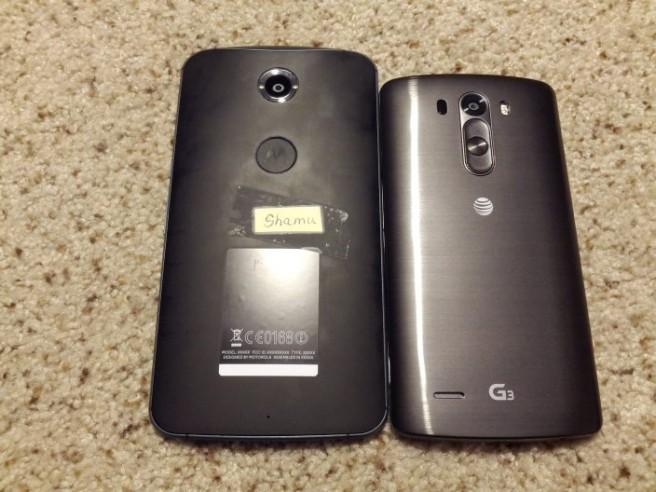 Nexus 6 LG G3