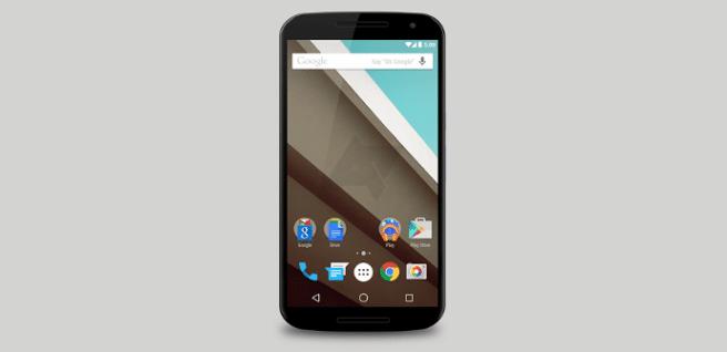 Nexus 6 interfaz