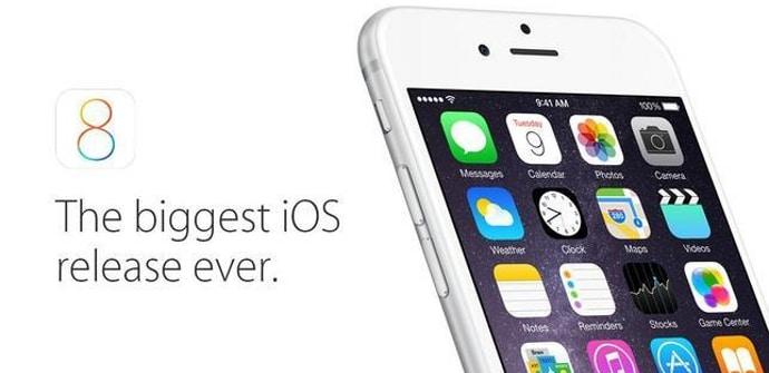 iOS 8 actualzacion