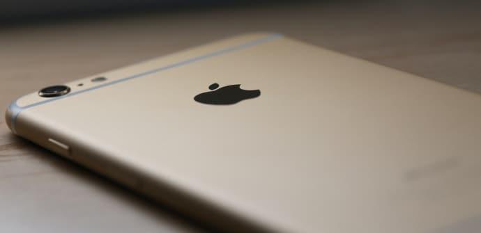 iPhone 6 trasera oro