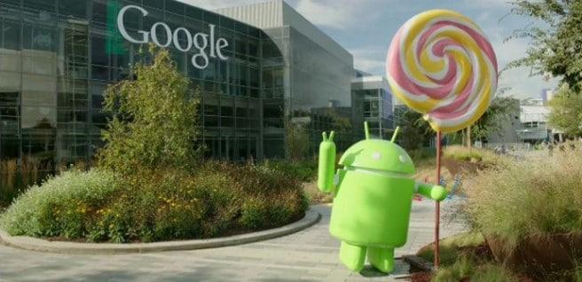 Android Lollipop estatua