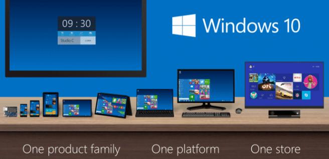 Windows 10 unificacion