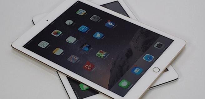 iPad Air 2 blanco