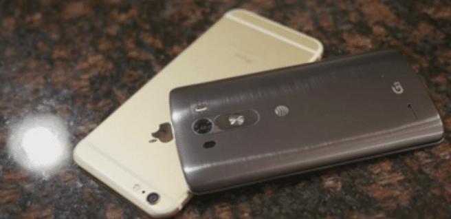 iPhone 6 Plus vs LG G3