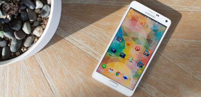 Galaxy Note 4 brillo pantalla