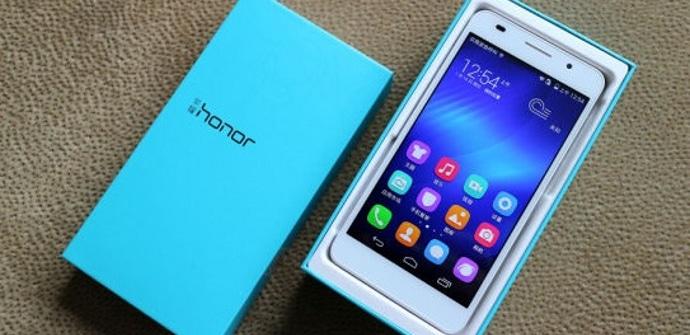 Honor 6 caja