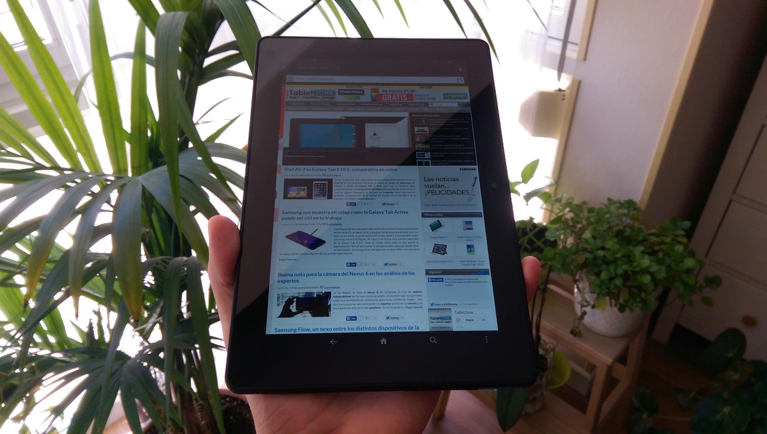 Kindle Fire HDX 8.9 2014 analisis tablet