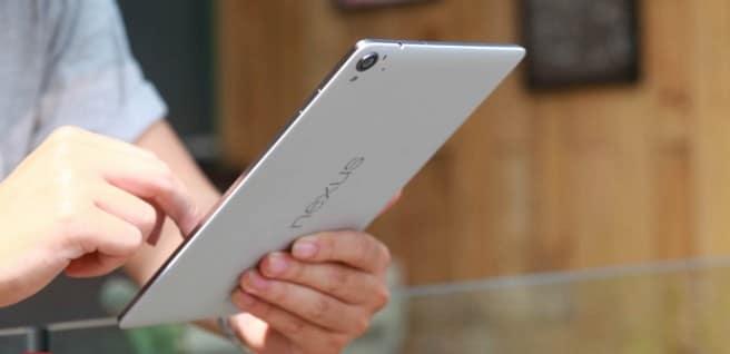 Nexus 9 blanca