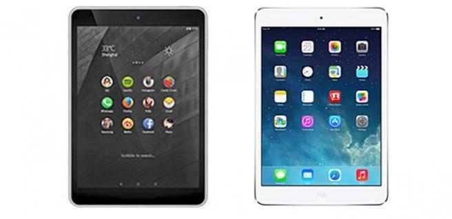 Nokia N1 vs iPad mini Retina