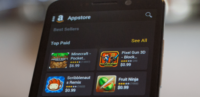 Tienda de apliaciones Amazon