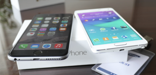 iPhone 6 Plus Galaxy Note 4