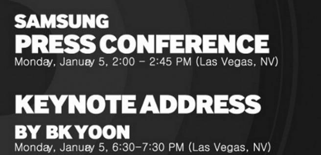 Samsung CES Vegas 2015