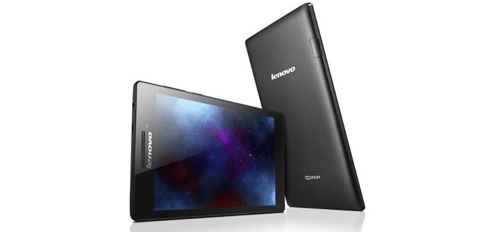 Lenovo Tab 2 pantalla
