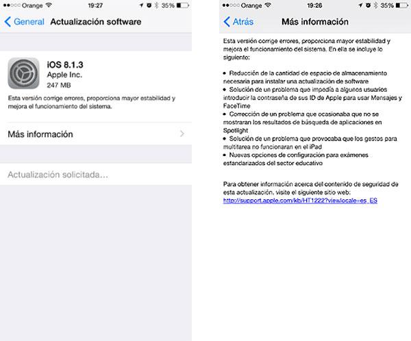 iOS-8.1.3-actualizacion