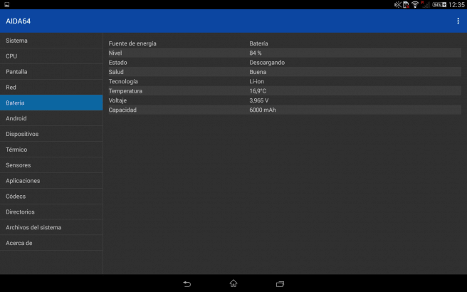 AIDA64 hardware tablet android foto 6