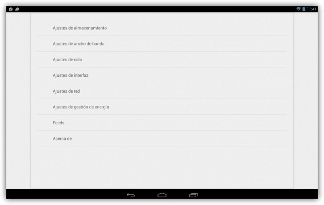 Flud Descargar archivos red torrent tablet foto 3