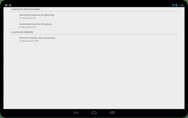 Flud Descargar archivos red torrent tablet foto 5