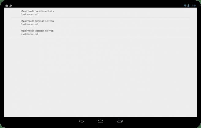 Flud Descargar archivos red torrent tablet foto 6
