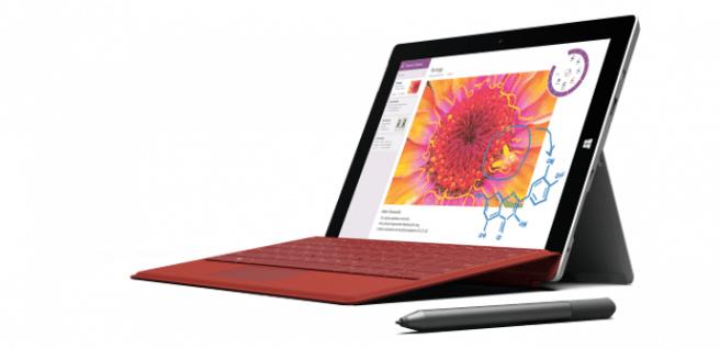 Surface 3 teclado