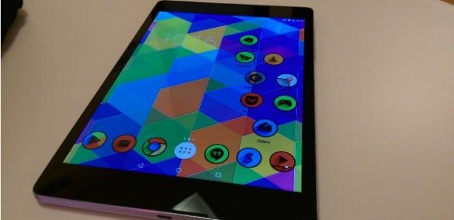 Nexus 9 personalizacion
