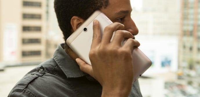 tablet con telefono