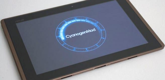 CyanogenMod tablet