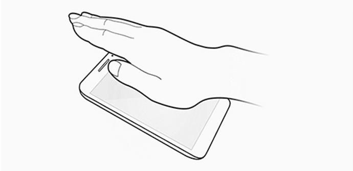 Encender pantalla gesto