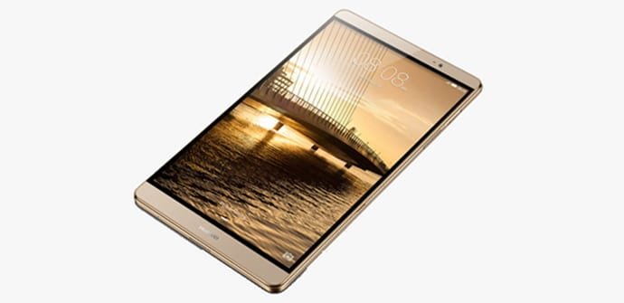 Huawei MeidaPad M2 frontal