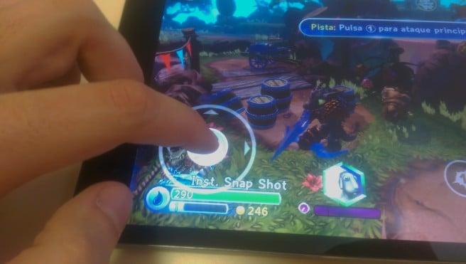 Skylander Trap Team control digital