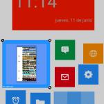 seleccionar tiles Android