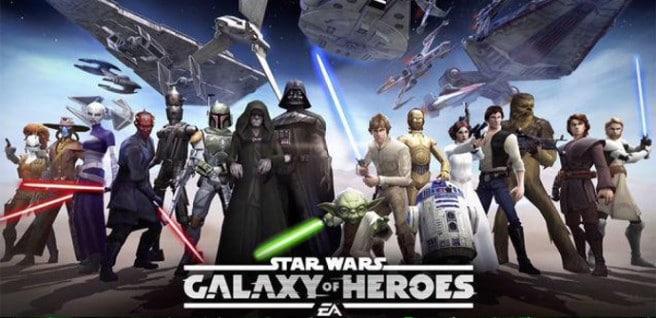 Galaxy of Heroes juego
