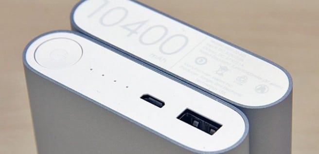 Xioami bateria externa
