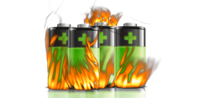 bateria calor