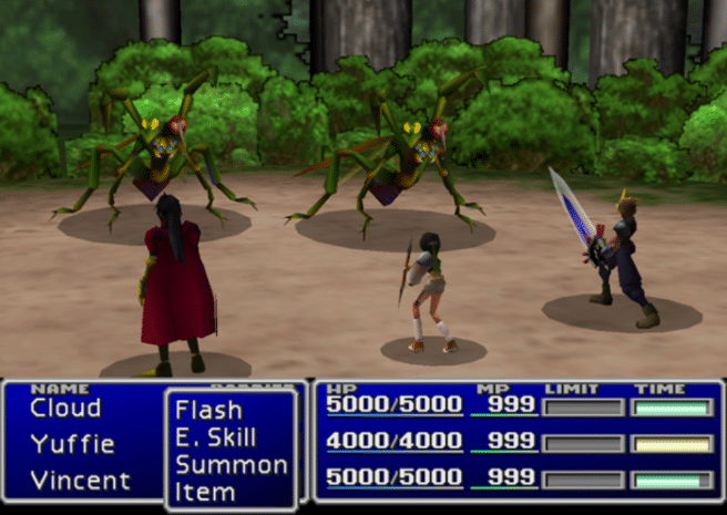 final fantasy VII  tablets