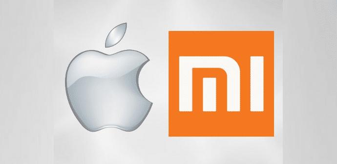 logos Apple Xiaomi
