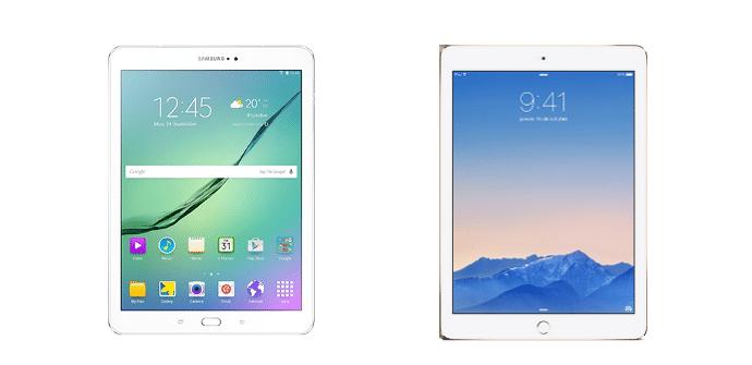 Samsung Galaxy Tab S2 Apple iPad Air 2
