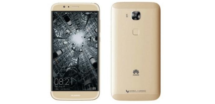 Huawei G8 dorado