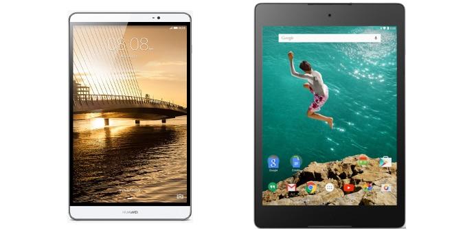 Huawei MediaPad M2 Google Nexus 9