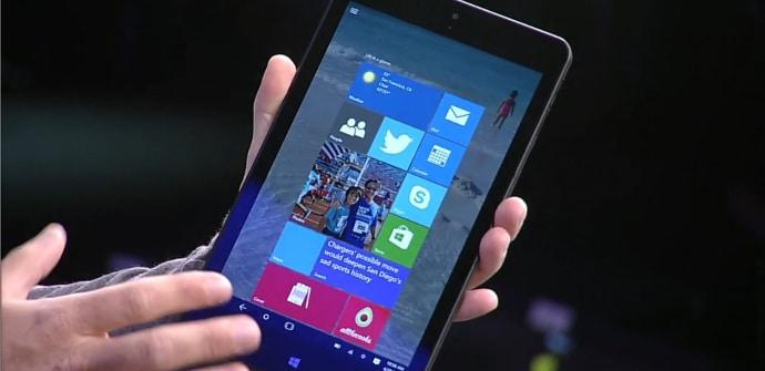 Windows 10 tablet 7 pulgadas