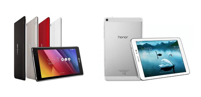 Asus ZenPad 7 Huawei Honor T1