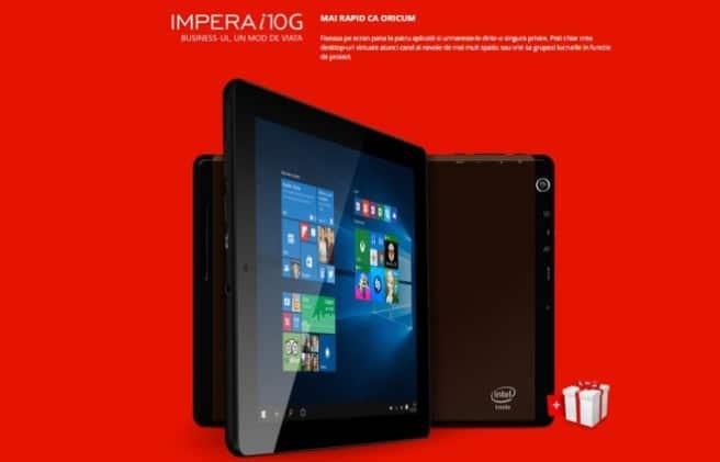 allview impera i10g tablet con Windows 10
