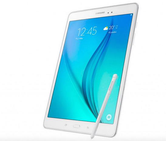 Galaxy Tab A plus con S-Pen y 2 GB de RAM
