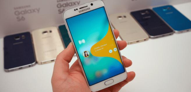 Galaxy S6 edge+ pantalla
