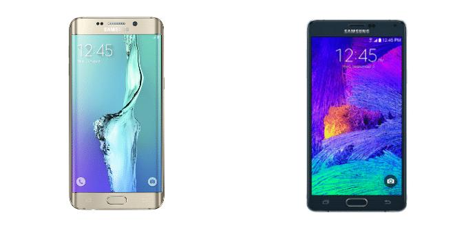 Samsung Galaxy S6 edge+ Samsung Galaxy Note 4