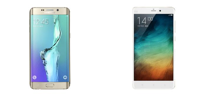 Samsung Galaxy S6 edge+ Xiaomi Mi Note Pro