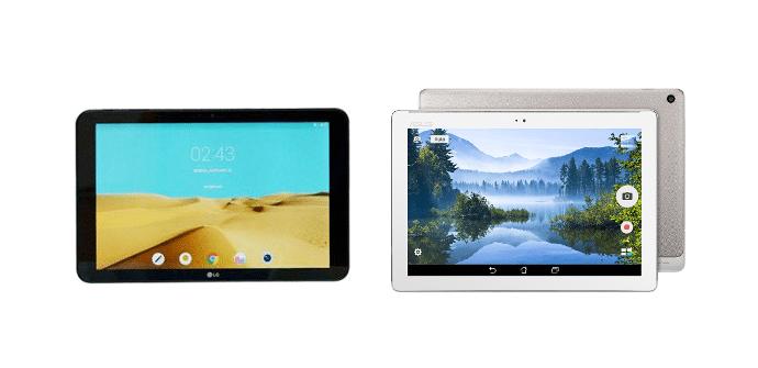LG G Pad II 10.1 Asus ZenPad 10