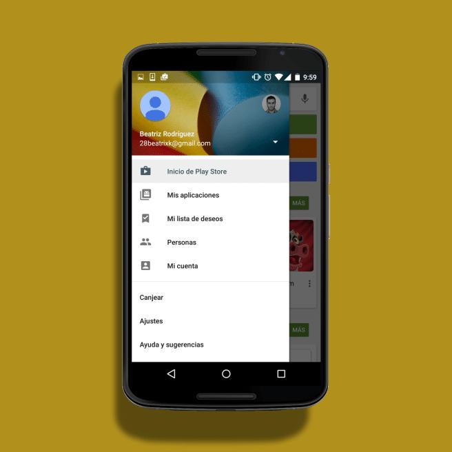 Mis aplicaciones Google Play Nexus 6
