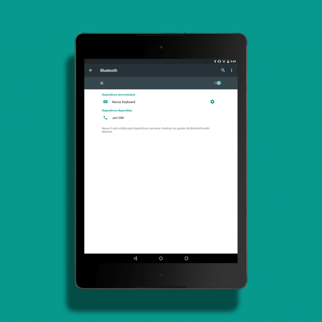 reconocer accesorios bluetooth Android